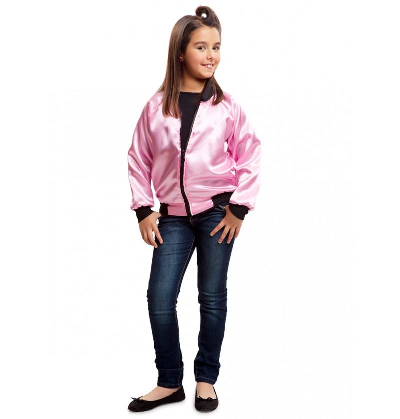 Chaqueta de pink lady 50s para niña