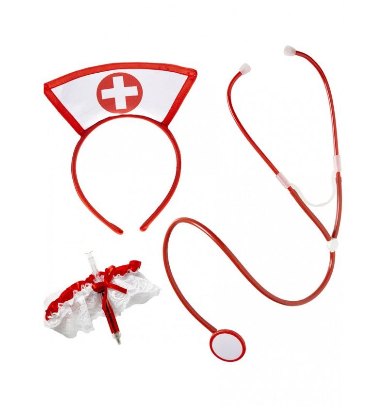 Kit de enfermera sexy para mujer