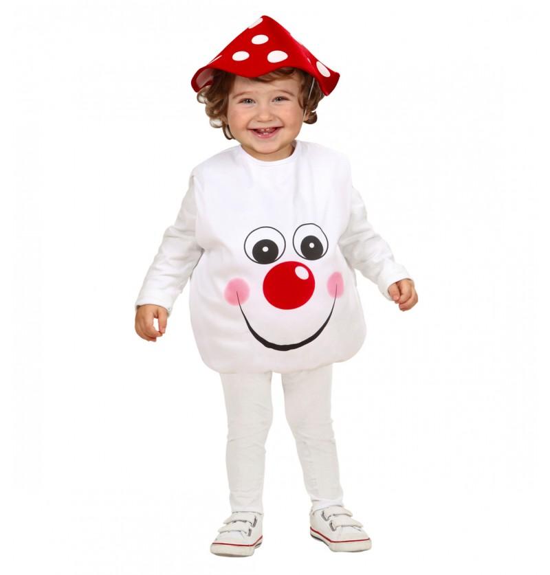 Disfraz de seta adorable para bebé