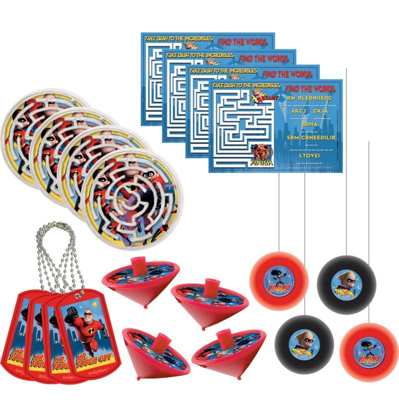mega set de 48 juguetitos de los increbles 2