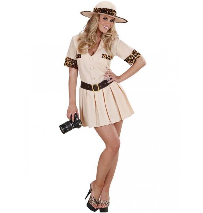 Disfraz de exploradora para mujer