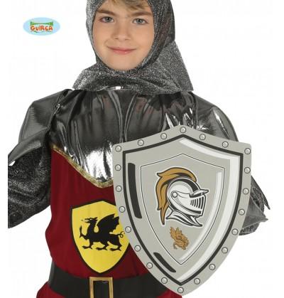 escudo medieval de eva infantil