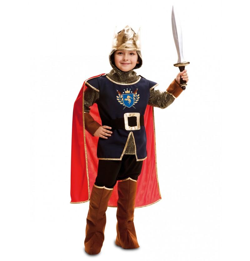 Disfraz de rey caballero para niño