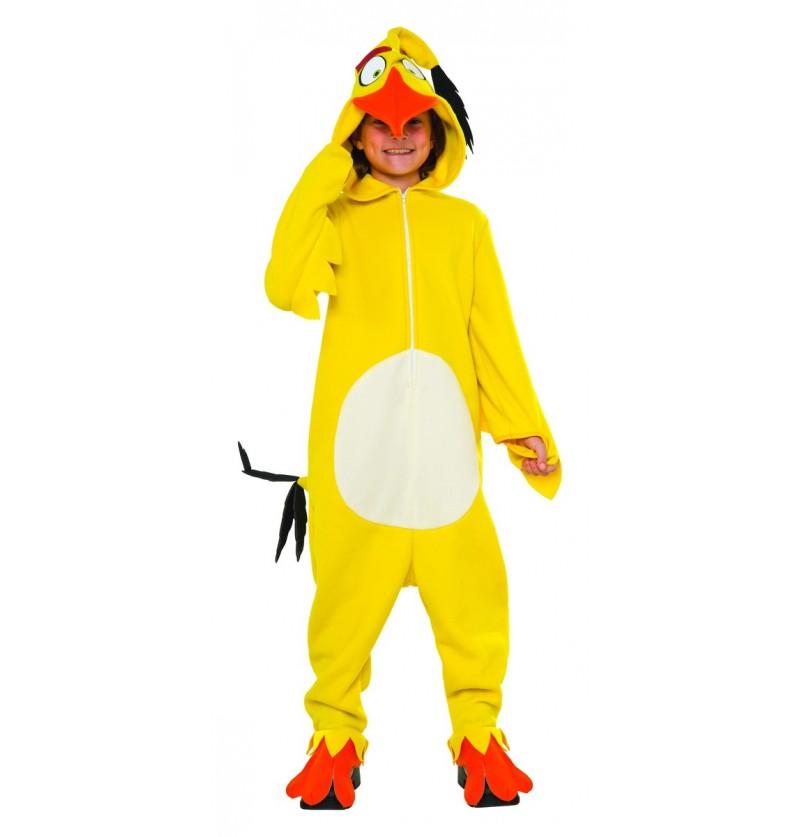 Disfraz de Chuck Angry Birds infantil
