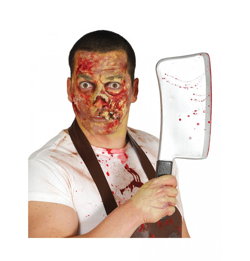 Cuchillo de carnicero asesino