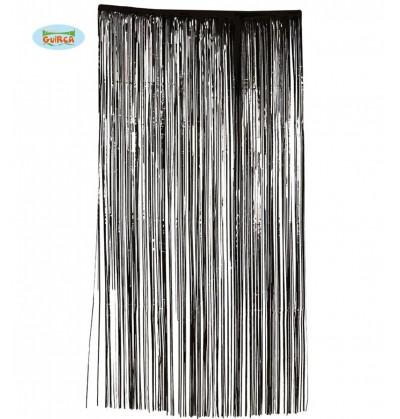 cortina negra siniestra
