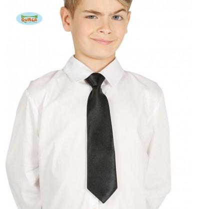 corbata negra infantil