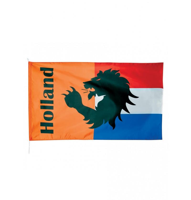 Bandera Holanda y naranja