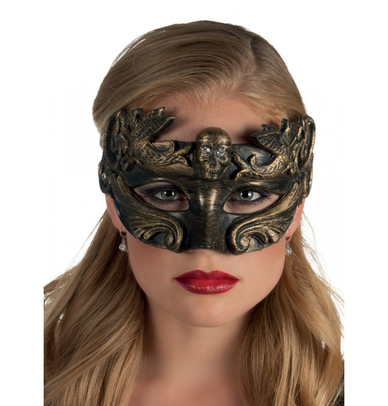 Máscara veneciana tenebrosa para mujer