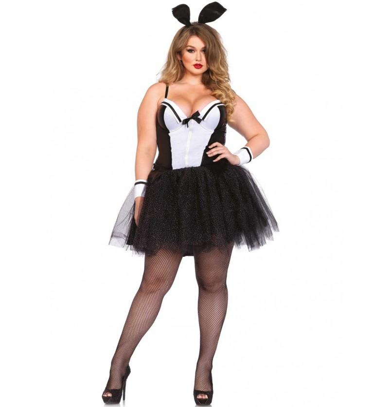 Disfraz de conejita para mujer talla grande