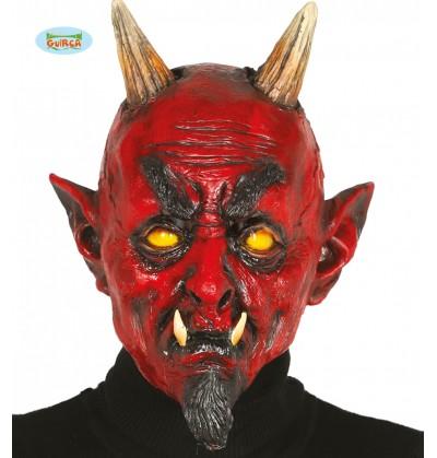 mscara de demonio infernal de ltex para adulto