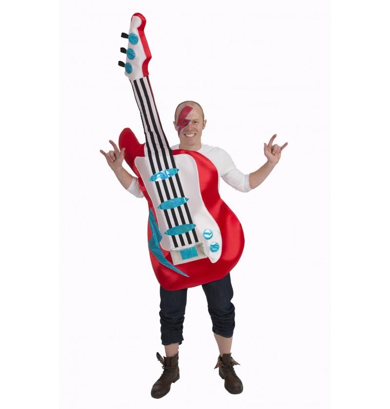 disfraz de guitarra elctrica para adulto