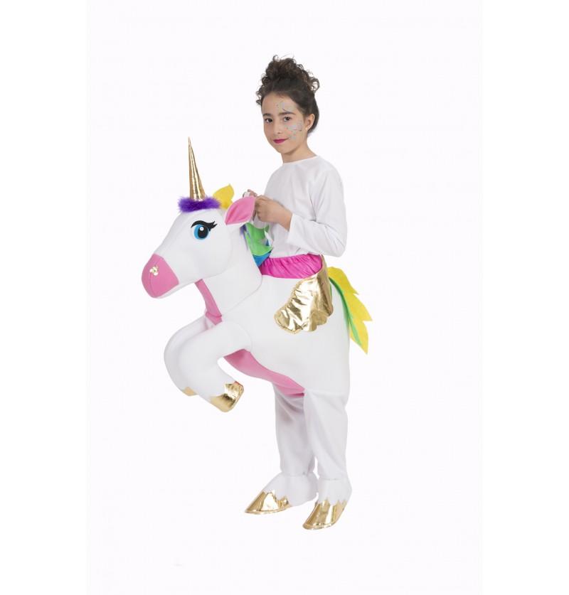 disfraz de unicornio ride on infantil