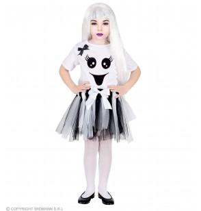 disfraz de fantasma adorable para nia