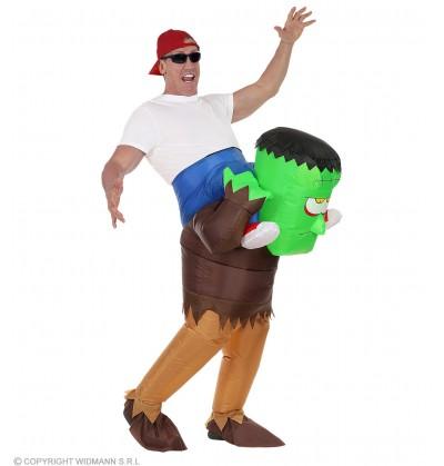 disfraz de frankie hinchable ride on para adulto