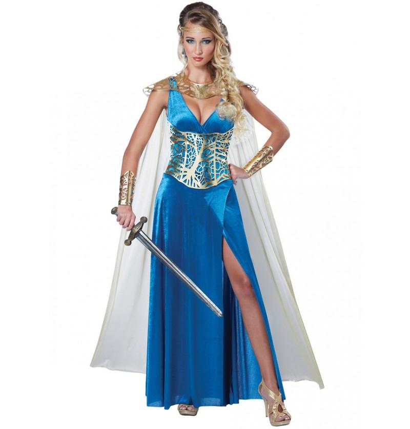 Disfraz de princesa guerrera para mujer