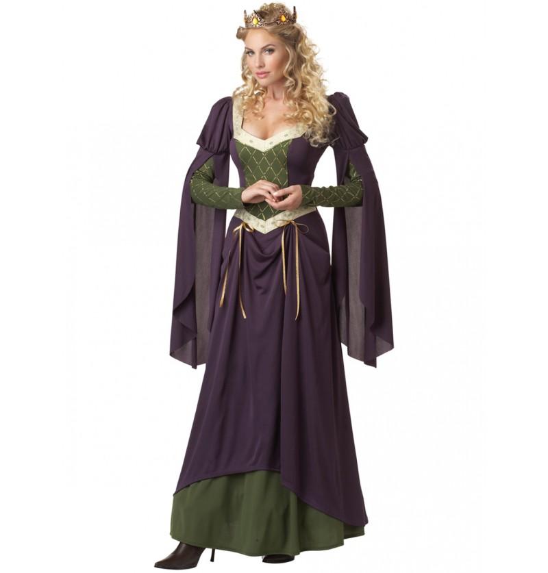 Disfraz de princesa de la torre para mujer