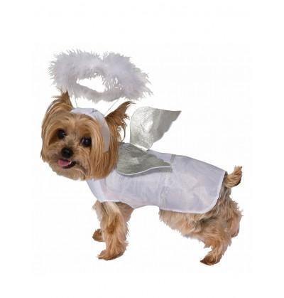Disfraz de ángel para perro