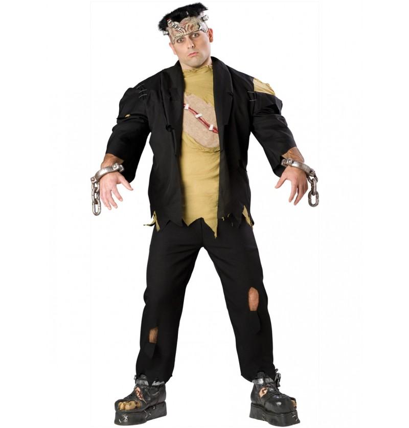 Disfraz de Frankie para hombre talla grande