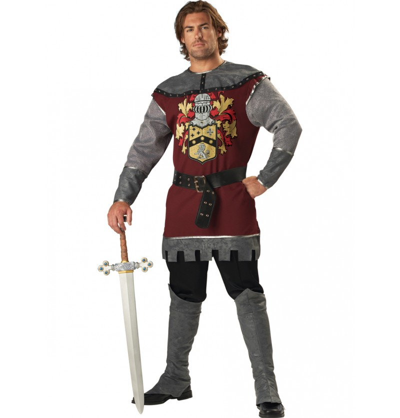 Disfraz de noble luchador para hombre