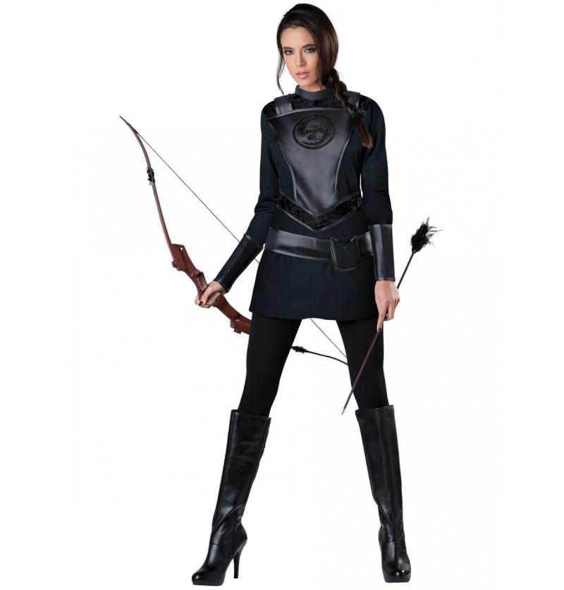 Disfraz de arquera salvadora para mujer