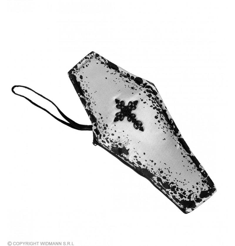 bolso con forma de atad