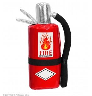 bolso con forma de extintor