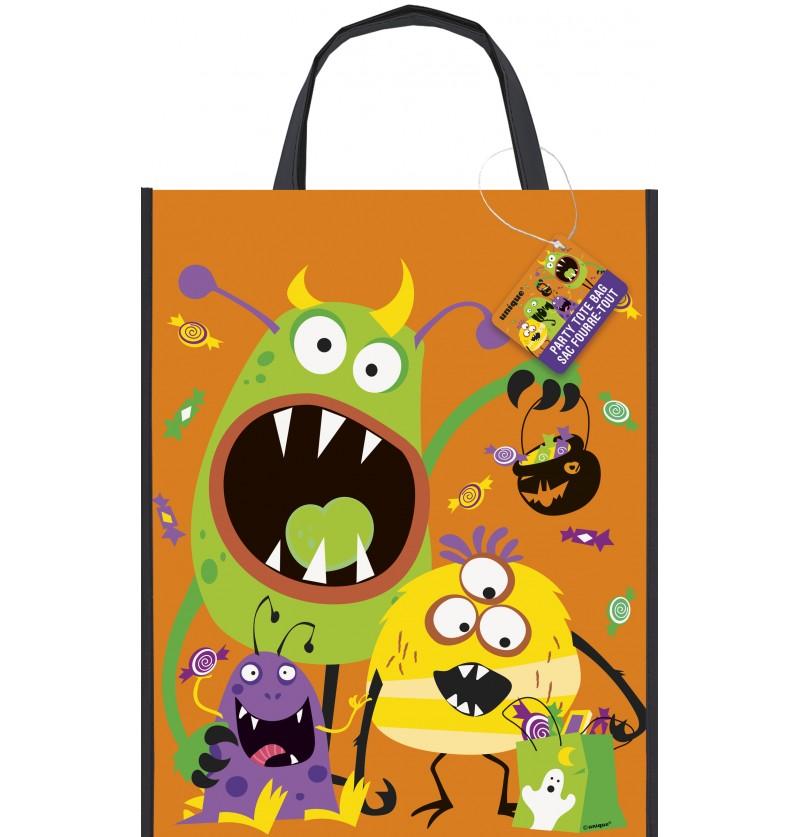 bolsa para caramelos de monstruos infantiles silly halloween monsters