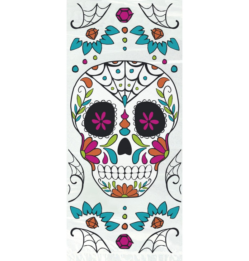 set de 20 bolsitas de celofn de catrina day of the dead