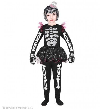 disfraz de esqueleto juguetn para nia