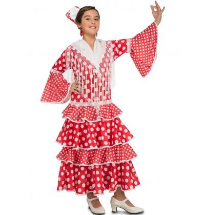disfraz de flamenca sevillana para nia
