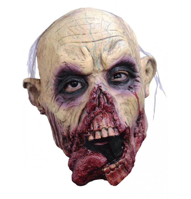 Máscara de zombie Tongue para niño