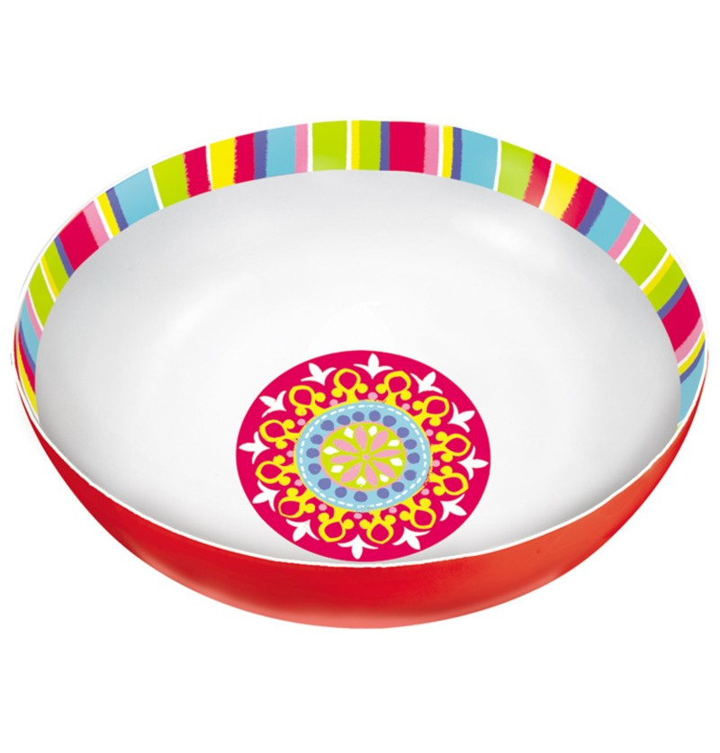 bol de plstico para fiesta mexicana