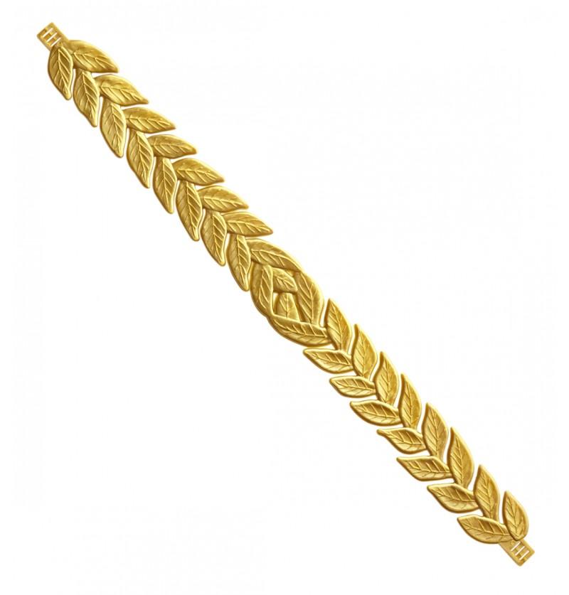 Corona de laurel campeón para adulto
