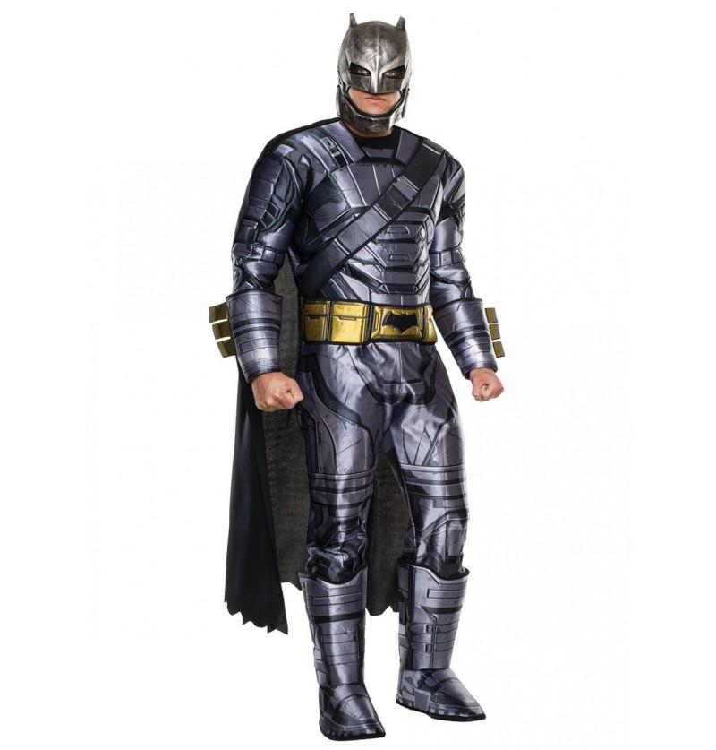Disfraz de Batman armadura deluxe Batman vs Superman para adulto