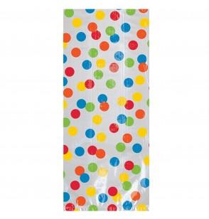 set de 20 bolsas de lunares de colores