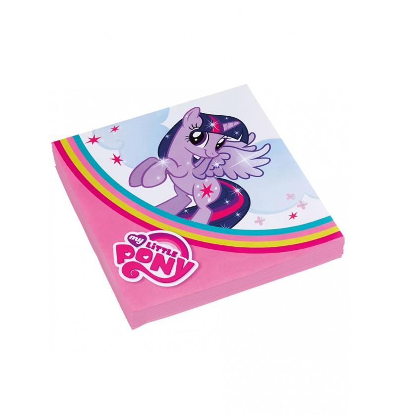 Set de servilletas de Mi Pequeño Pony