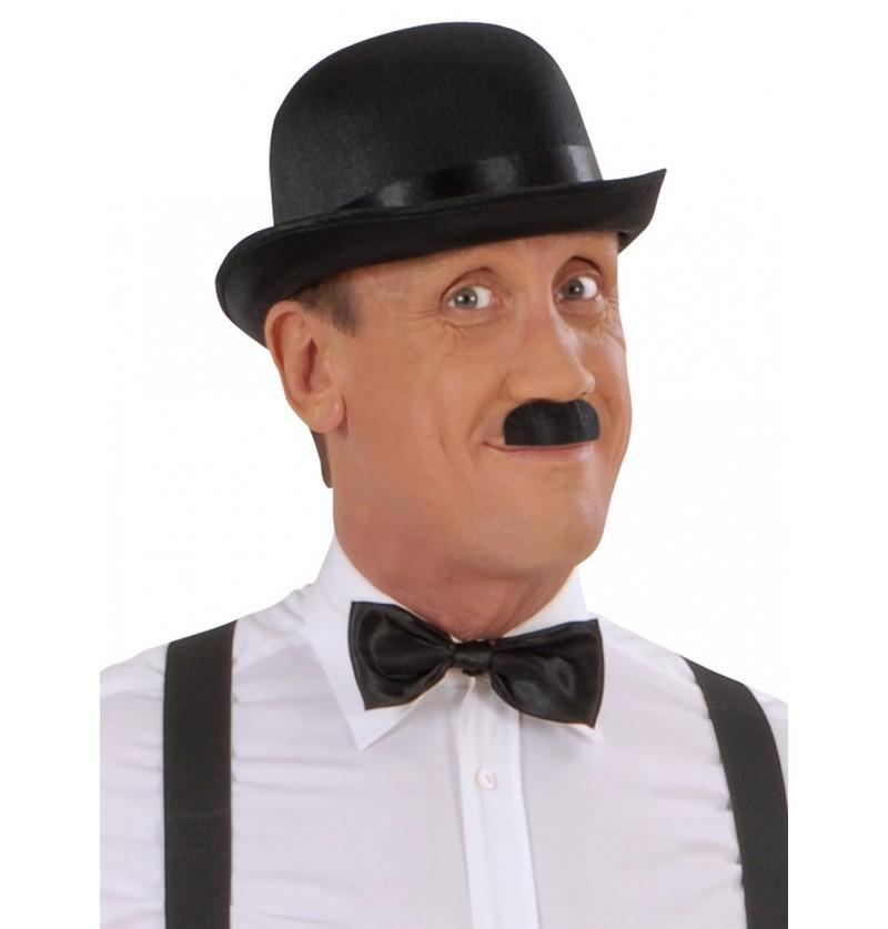 Bigote negro de Chaplin para hombre