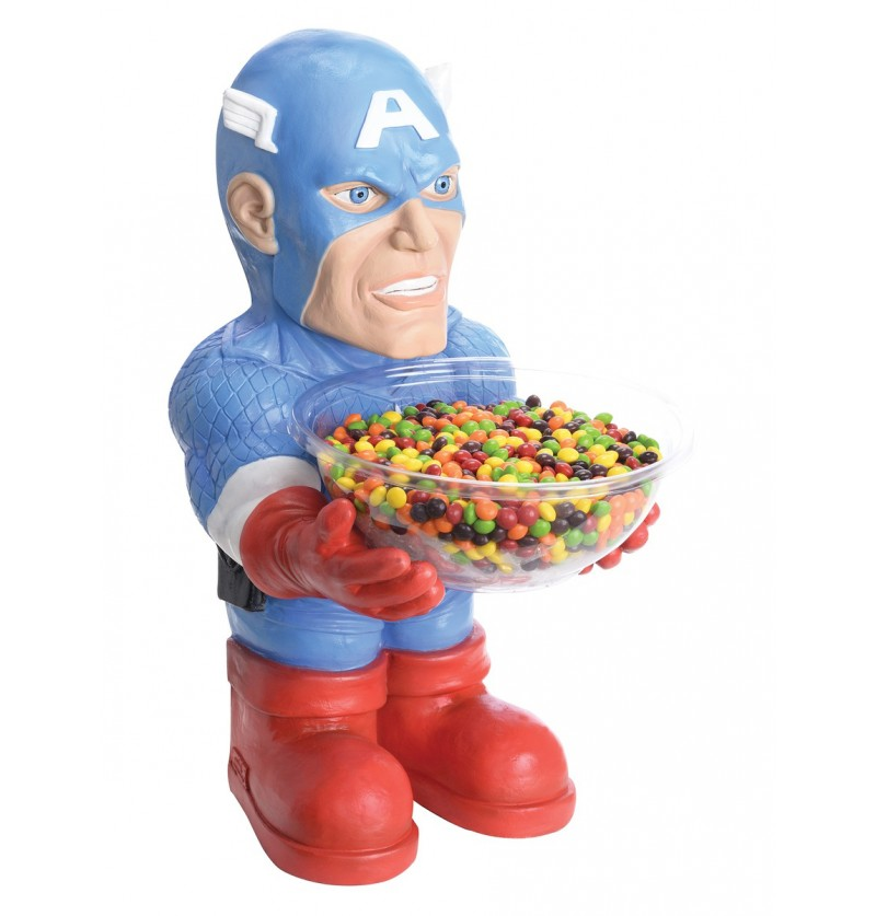 Porta caramelos Capitán América Marvel