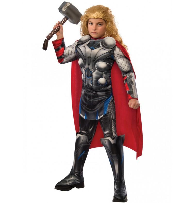 Disfraz de Thor Vengadores: La Era de Ultrón deluxe para niño