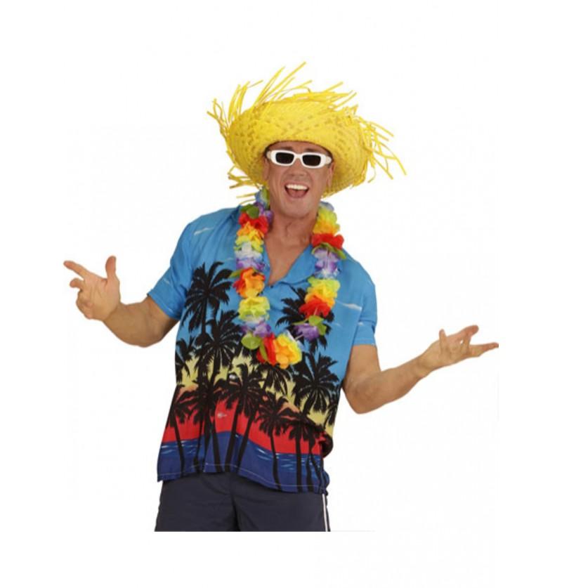 Camisa Hawaiana Palm Beach para hombre talla grande