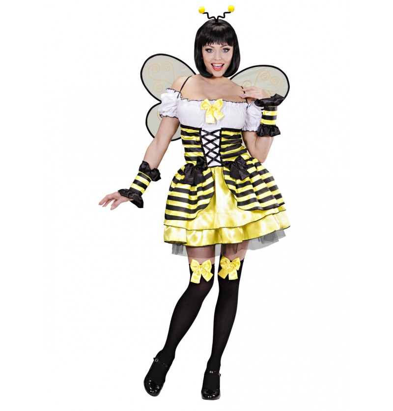 Disfraz de abeja curiosa para mujer