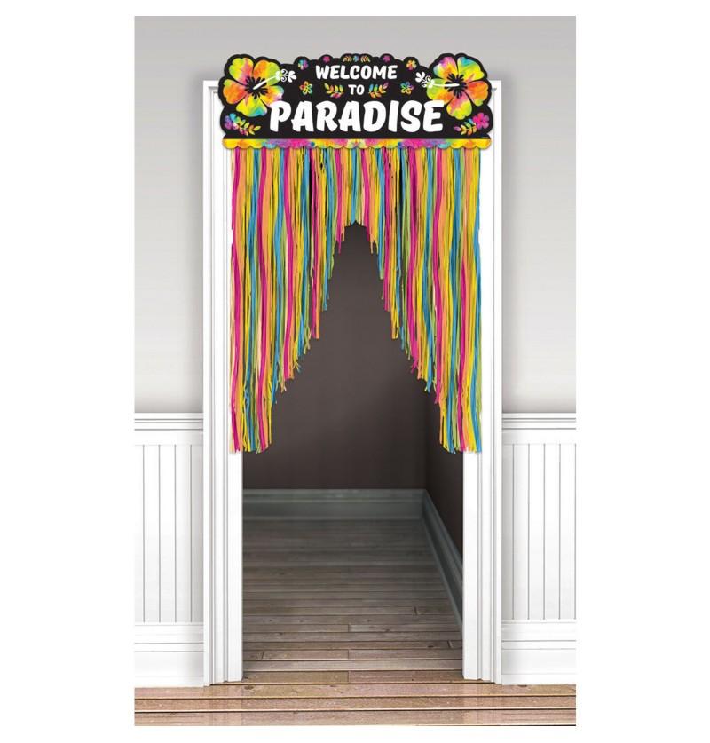 cortina hawi bienvenido al paraso