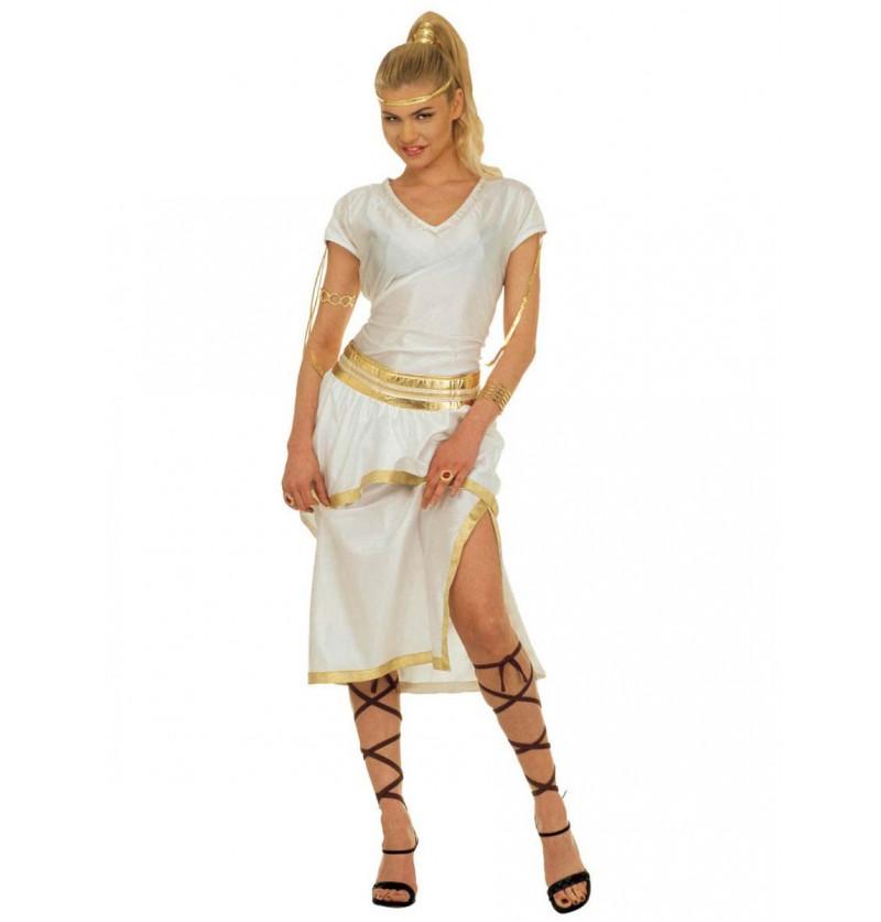 Disfraz de Atenea en el Olimpo para mujer