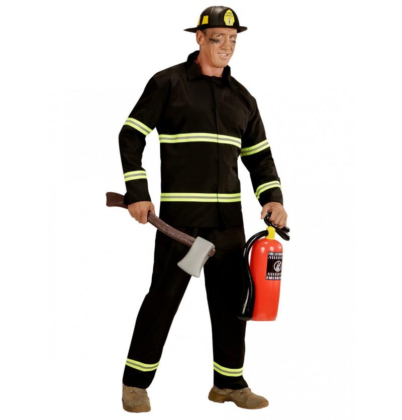 Disfraz de bombero trabajador para hombre