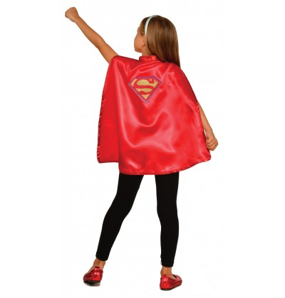kit disfraz de supergirl dc super hero girls para nia