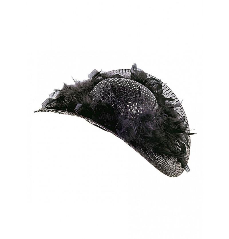 Sombrero de realeza francesa para mujer