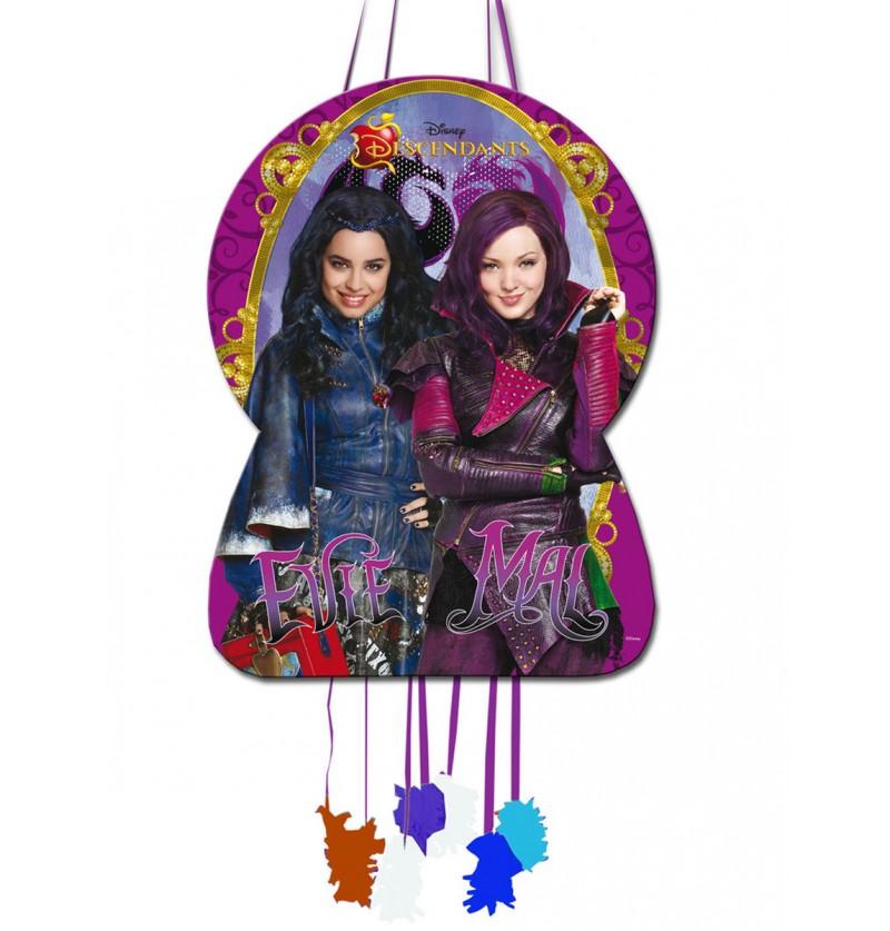 Piñata silueta Los Descendientes
