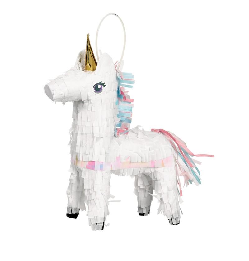 figura decorativa de princesa unicornio