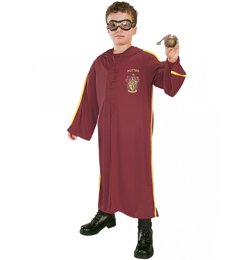 Kit disfraz de Quidditch Harry Potter